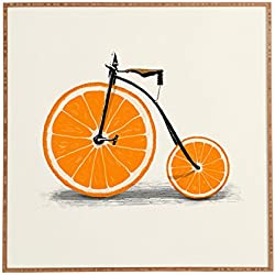 "Deny Designs Florent Bodart, Vitamin, Framed Wall Art, Small, 12""x 12"""