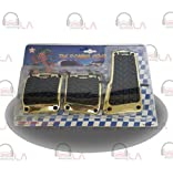 SPORT PEDAL PADS 3PC GOLD/TIRE THREAD NTR967