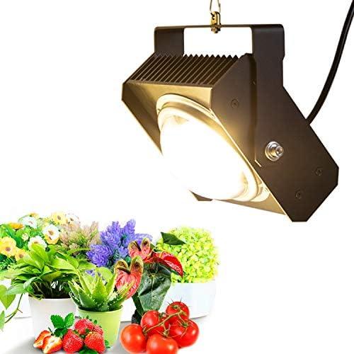 100W Lampada per Piante, CFGROW Lampada Piante Coltivazione Spettro Completo per Piante da Interno, Giardino Idroponica per Serre con Ampio Dissipatore di Calore e Vernice di Raffreddamento