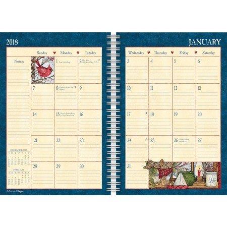 LANG - 2018 Spiral Engagement Planner -