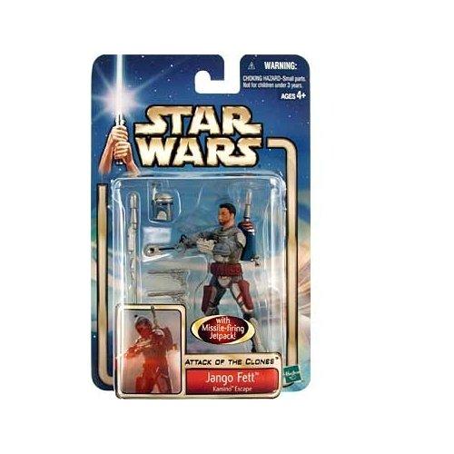 Hasbro Star Wars Saga 2002 Jango Fett Action Figure [Kamino Escape]]()
