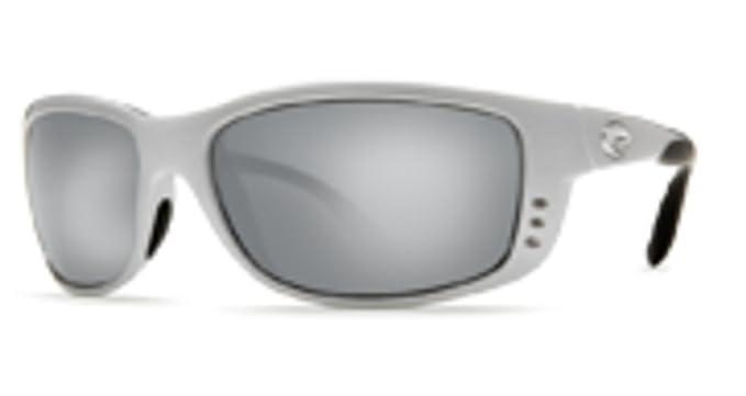 4627563fc695b Costa Del Mar Zane Silver Mirror Glass- W580 Lens with Silver Frame ...
