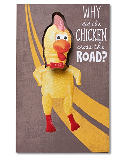 American Greetings Funny Dancing Chicken Birthday Card