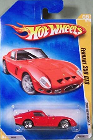 Amazon Com Hot Wheels 2009 New Models Ferrari 250 Gto W Wsps Lws 005 05 Of 42 1 64 Scale Toys Games