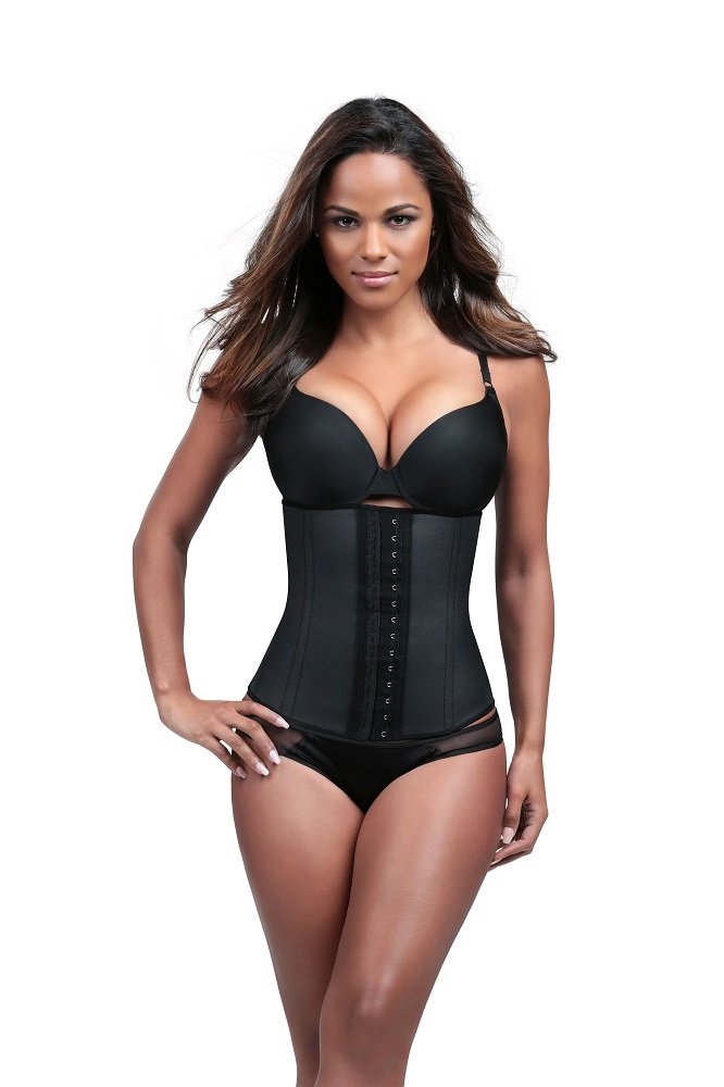 Divafit Women's Waist Trainer, Black, Small