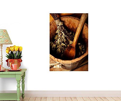 Wallmonkeys WM324054 Bania Peel and Stick Wall Decals (18 in H x 12 in W)