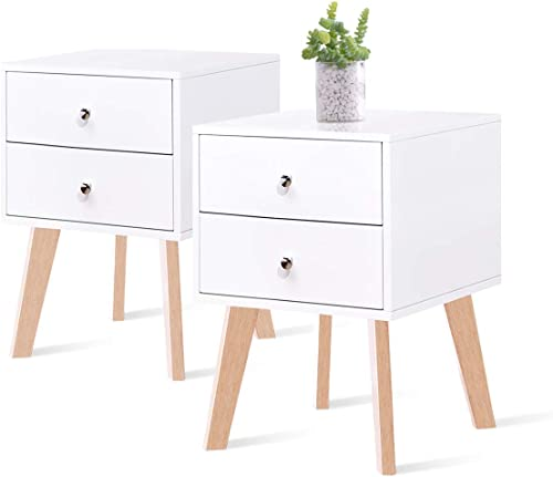 TaoHFE White Nightstand