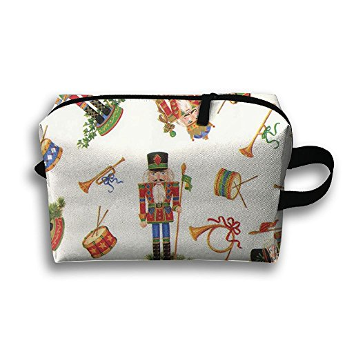 Man Being Carried Costume (Cartoon Soldier Figurine nutcracker ballet Portable Travel Cosmetic Bags Pencil Case Storage Pouch Bag Travel Cosmetic Bags Zipper Tool Bag Pencil Pouch For Mens Women College Christmas Gifts)