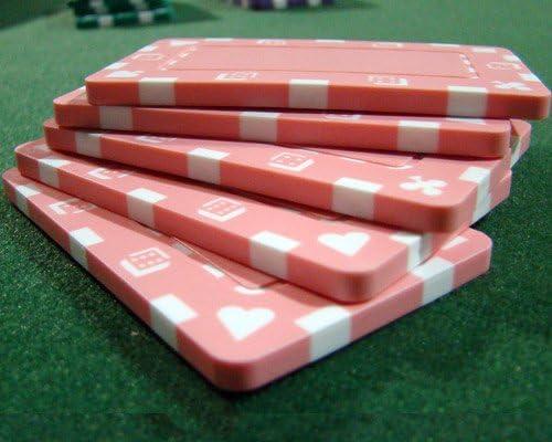 Choose Colors! 25 Rectangular Poker Chip Plaques