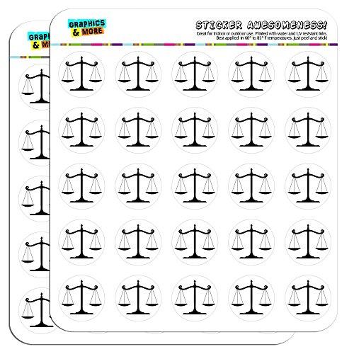 Balanced Calendar Scrapbooking Crafting Stickers
