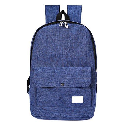 Espeedy Mochila de viaje de deportes al aire libre,Recién llegados 5 colores marca diseño mochila hombres mujeres estudiante mochila viajes de fin de semana bolsas azul