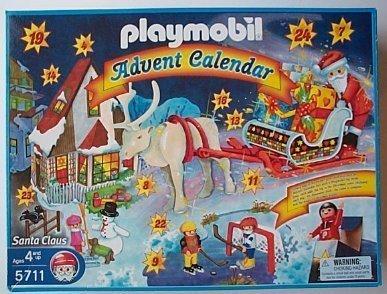 Playmobil Weihnachten.Playmobil Adventskalender Weihnachtsmann Weihnachten Amazon