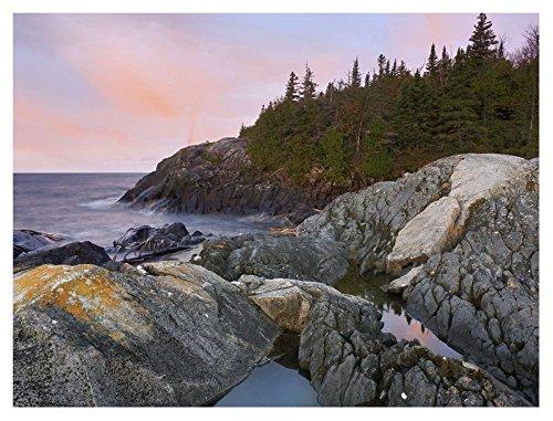 Global Gallery Dp 397049 3040  Tim Fitzharris Horseshoe Bay On Lake Superior Pukaskwa National Park Thunder Bay Canada  Unframed Giclee On Paper Print  30  X 40