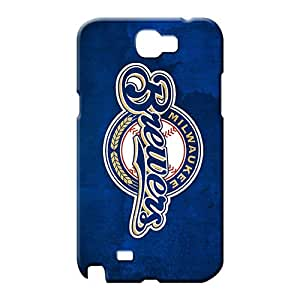 samsung note 2 case Personal New Arrival Wonderful mobile phone covers milwaukee brewers mlb baseball