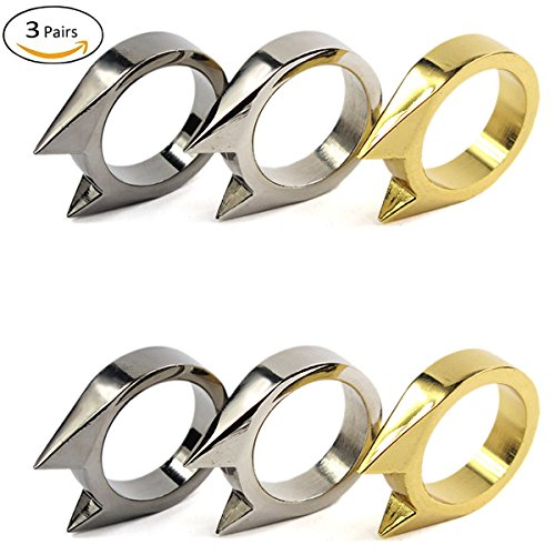 Summer Win 6 Pcs Security Safety Rings