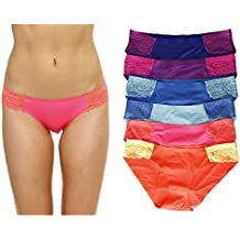 Just Intimates Bikini Underwear Panties For Women (Pack Of 6)