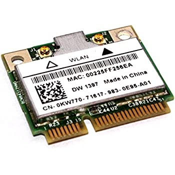 Dell Precision M2400,M4400,M6400 Wireless WLAN 1397 Half MiniCard (4312bg) Treiber Windows 10