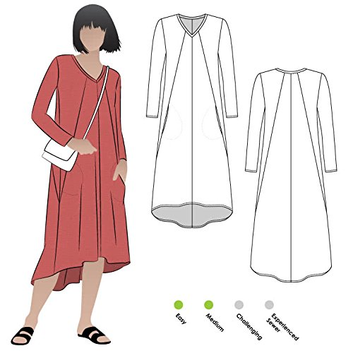 Style Arc Sewing Pattern - Eden Knit Dress (Sizes 04-16) - Click for Other Sizes (Eden Pattern)