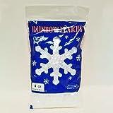 Rainbow Snowflakes - Iridescent - 4 ounces
