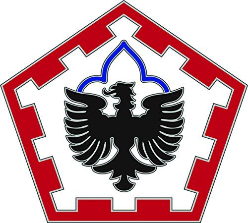 555th Engineer Brigade CSIB - Combat Service Identification Badge (Engineer Uniform)