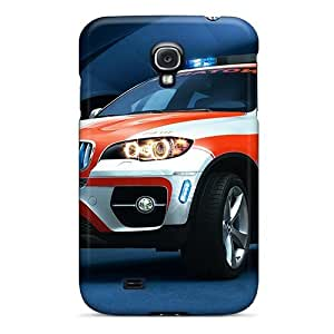 Durable Defender Case For Galaxy S4 Tpu Cover(bmw X6 Xdrive50i)