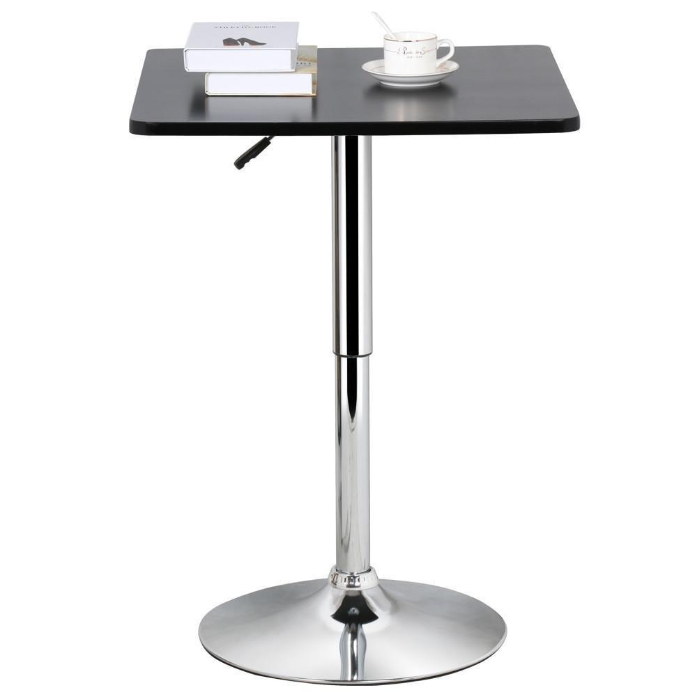 Topeakmart Pub Table Adjustable 360 Swivel Round Bar Table TP-bar table-6401