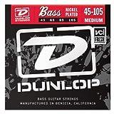Dunlop 2PDBN45105 Nickel Wound Bass Strings, Medium 2-Pack, .045-.105, 2 Sets/Box