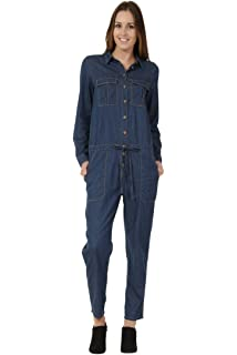 Amazon Com Meterde Women S Tailored Boilersuit Sleeveless Belt