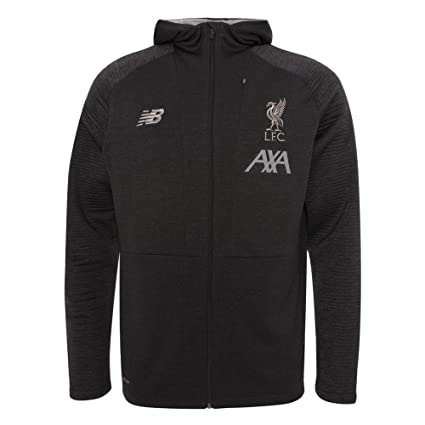 d5c8d5e10cea3 Liverpool FC Phantom Polyester Mens Soccer Training Travel Zip Hoodies  2019/2020 LFC Official