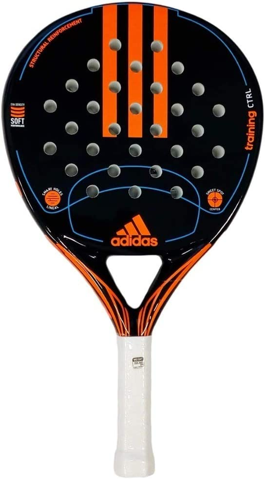 adidas Paddle/Padel Tenis Control de Entrenamiento/Fibra de Vidrio y EVA Suave Rendimiento. Raqueta de bola/raqueta.