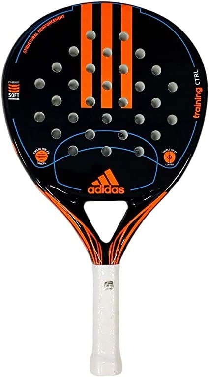 baños estropeado Estrecho de Bering  Amazon.com : adidas Padel Racket-Training CTRL-Fiber Glass with Eva Soft  Performance Padel Raquet-Pop Tennis Paddle : Sports & Outdoors