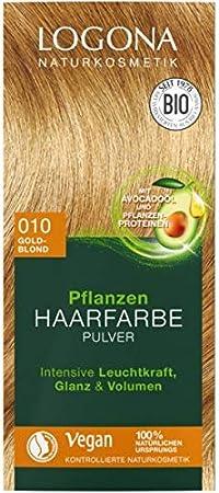 LOGONA 03007 coloración del cabello Rubio - Coloración del ...