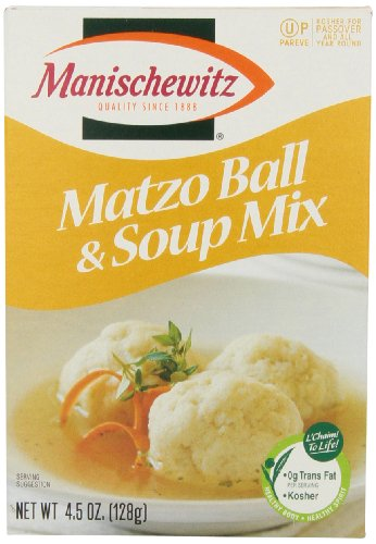 Manischewitz Matzo Ball Soup Mix, 4.5 oz