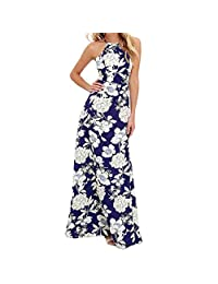 Gillberry 2017 Women  Summer Boho Long Maxi Party Dress Beach Dresses Sundress
