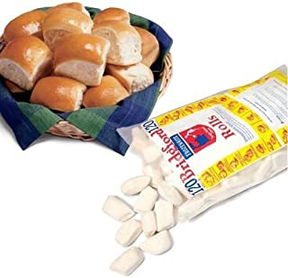 product image for Bridgford Foods Parker House White Yeast Roll Dough, 1 Ounce -- 240 per case.