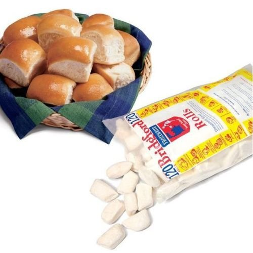 Bridgford Foods Parker House White Yeast Roll Dough, 1 Ounce -- 240 per case. (Parker House Rolls)