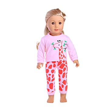 Spritumn 10 kinds Fashion Casual Wear Clothes out fit for18 Inch American  Doll Our Generation ca4619414