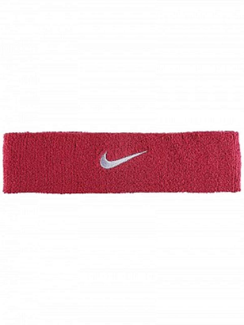 Nike Swoosh Headband (Red Crush/Wolf Grey) by Nike (Image #1)