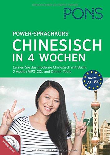 pons-power-sprachkurs-chinesisch-in-4-wochen-lernen-sie-chinesisch-mit-buch-2-audio-mp3-cds-und-online-tests