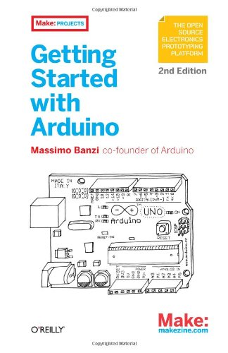 Getting Started with Arduino, 2nd Edition Front Cover