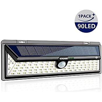 Solar Lights Outdoor Sonata Motion Sensor Light With 270