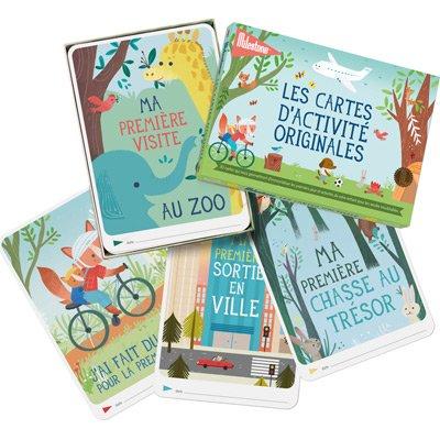 Milestone Cards - Journal et livre de naissance - Cartes photos souvenirs activites ELEMENTS FOR KIDS