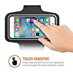 """SweatProof Armband for Big Phones, [3 Pack] CaseHigh Shop for iPhone 6S/6/5S/5/5C/4/4S & Galaxy S5/S6 Plus S7 LG G5 V10… 7 Universal Designed: Up to 5.7"""" diagonal size. This waterproof dry bag fits almost all of phones, for instance, Apple iPhone 4/4S,iPhone SE/5S/5,iPhone 6/6s,iPhone 6 Plus/6S Plus, Samsung Galaxy S4/S5/S6 edge, Samsung Galaxy S7/S7 edge, Samsung note 4/ note5, LG G5 ,LG K7, LG K10, Nokia Lumia, BlackBerry, Motorola MOTO G, Keys, Cash, MP3 Player and other personal device less than 5.7 Built-in hidden key holder to help you minimize carrying extra things when hitting the gym! Reflective strip around border to enhance 'Jog Safe' precaution Enjoy the full use of your phone through the protective screen cover on the armband with fully touch compatible, easily answer calls, manage your playlist, or activate your stopwatch without removing the phone"""