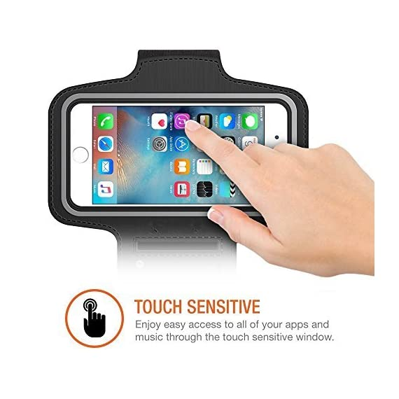 """SweatProof Armband for Big Phones, [3 Pack] CaseHigh Shop for iPhone 6S/6/5S/5/5C/4/4S & Galaxy S5/S6 Plus S7 LG G5 V10… 3 Universal Designed: Up to 5.7"""" diagonal size. This waterproof dry bag fits almost all of phones, for instance, Apple iPhone 4/4S,iPhone SE/5S/5,iPhone 6/6s,iPhone 6 Plus/6S Plus, Samsung Galaxy S4/S5/S6 edge, Samsung Galaxy S7/S7 edge, Samsung note 4/ note5, LG G5 ,LG K7, LG K10, Nokia Lumia, BlackBerry, Motorola MOTO G, Keys, Cash, MP3 Player and other personal device less than 5.7 Built-in hidden key holder to help you minimize carrying extra things when hitting the gym! Reflective strip around border to enhance 'Jog Safe' precaution Enjoy the full use of your phone through the protective screen cover on the armband with fully touch compatible, easily answer calls, manage your playlist, or activate your stopwatch without removing the phone"""