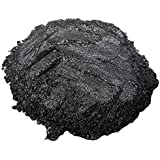 Black Metallic Powder (PolyColor) – Mica Powder for Coloring Epoxy Resin, Candles, Soap, Bath Bombs, Arts and Crafts, and Mor