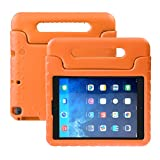 NEWSTYLE iPad 9.7 inch 2017 Kids Case Shockproof Stand Cover with Built-in Handle for Children for Apple New iPad 9.7-inch Orange