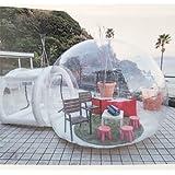 【R.shop】 バブルテント 透明キャンプテント 静音送風 3メートル 5メートル 星観察 天体観察 最適