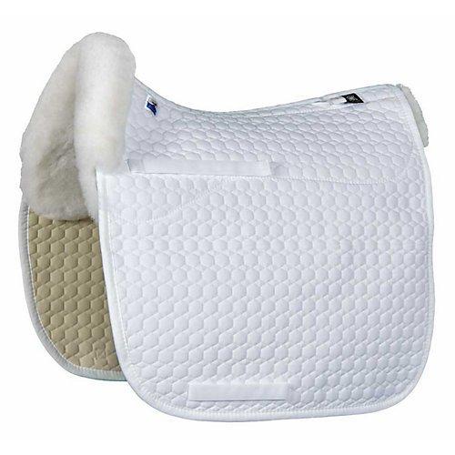 Mattes Saddle Pads (EA Mattes Platinum Sheepskin Square Pad AP L White)