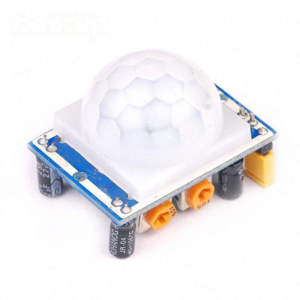 Arduino Raspberry Pi PIC HC-SR501 Adjustable PIR Motion Sensor Detector Module
