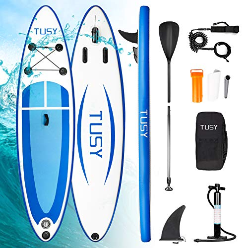 TUSY Inflatable SUP Stand Up Paddle Board 10' x 30